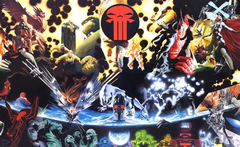 earth marvel ross alex terra graphic novels comics ultimato covers earthx comic chaos mechanica greatest dc dynamic avengers forces litho