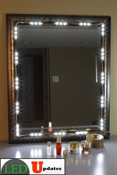 vanity mirror led light package led updates