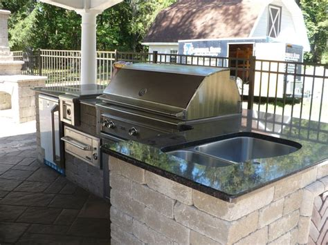 outdoor grill with sink grill sink outdoor kitchen outdoor living pinterest