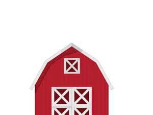 Red Barn Silhouette Clip Art