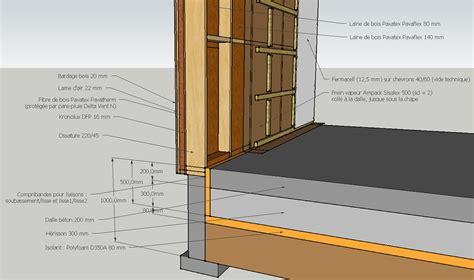 la maison a ossature bois par les schemas structure des murs maison bois ossature bois mur et bois