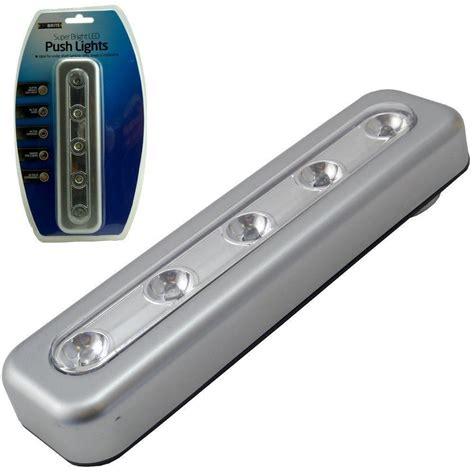 stick on kitchen lights 5x bright led battery operated bulb stick on push on 5804