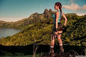 Bianca Beauchamp Latex Fetish Cosplay Lara Croft Tomb