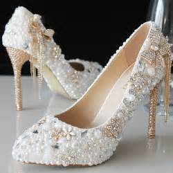 comfy wedding shoes 2015 luxury beautiful pointed toe pearl bridal wedding dress shoes comfortable ivory shoes for