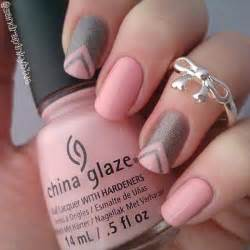 Pink nail art designs and design