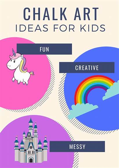 Chalk Draw Things Easy Creative Keep Poster