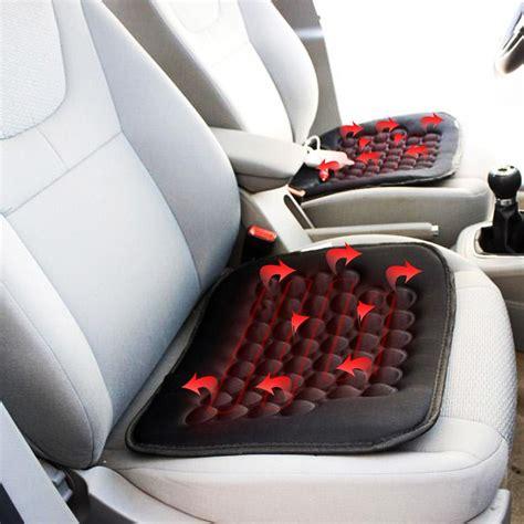 zone tech 2x car heated seat cushion cover auto 12v