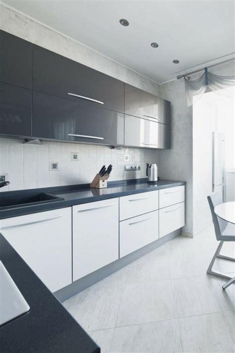 meuble cuisine laqué cuisine quipe grise laque photo cuisine moderne design