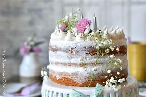 le naked cake gateau tendance le blog cuisine de samar