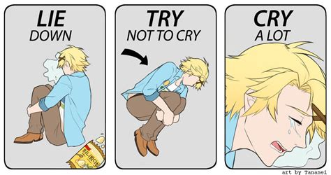 Try Not To Cry Meme - lay down try not to cry cry alot meme www pixshark com images galleries with a bite
