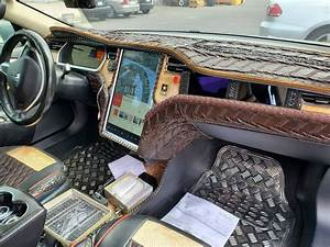 Crocodile Dundee Would Be Proud Of This Tesla Model S Custom Interior | Carscoops