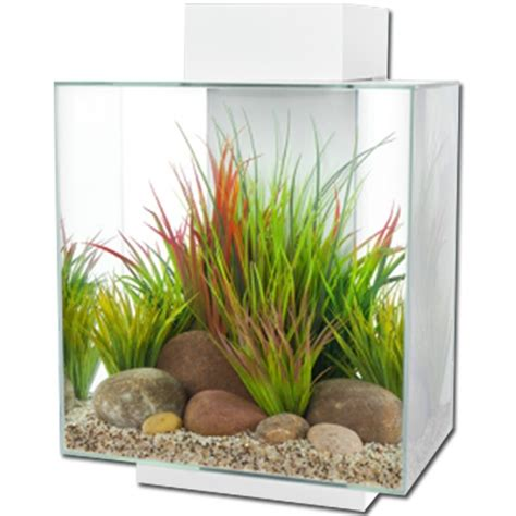 Fluval Edge 46l Led Aquarium  White Gloss