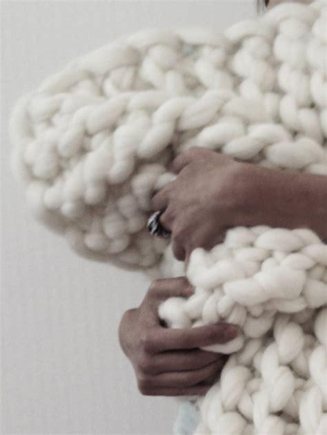 une decoration en tricot pour rechauffer la maison