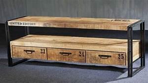 Acheter Meuble En Palette Bois : meuble fait avec des palettes de bois bricolage maison ~ Premium-room.com Idées de Décoration