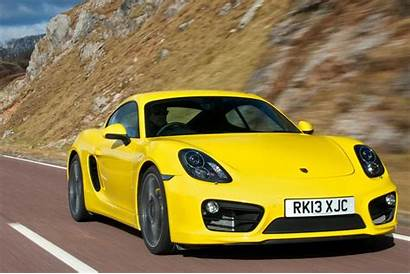 Porsche Cayman Cars Test Road Engine
