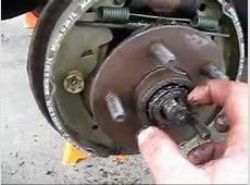How to remove wheel bearing & wheel hub Repacking wheel