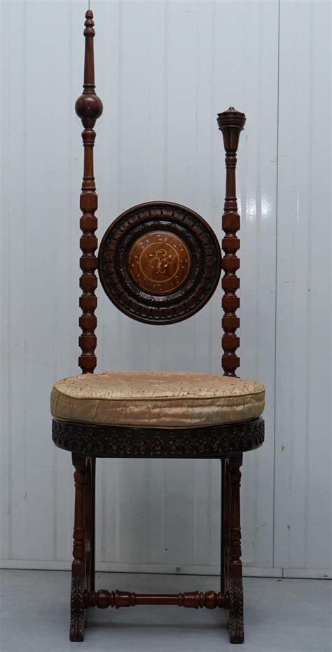 Rare chair , circa 1905. Carlo Bugatti Throne Chair Solid Hardwood Hand Carved Wood Rare Find, circa 1900 at 1stdibs