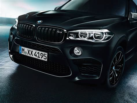 bmw black bmw x5 m and x6 m black fire editions debut the torque