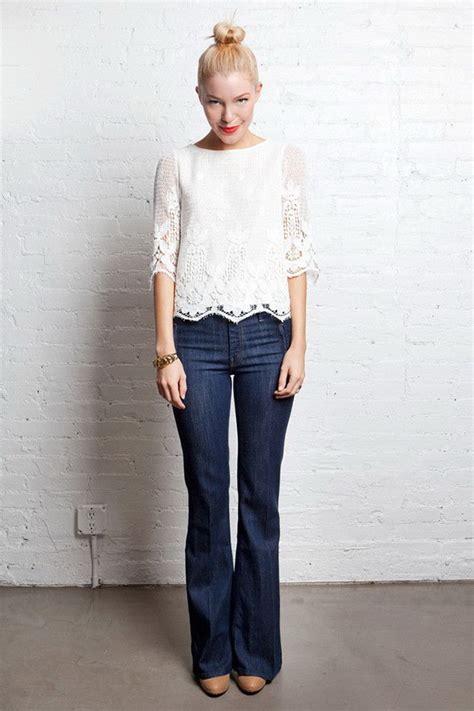 20 Ways To Wear Bootcut Jeans 2018 | FashionGum.com