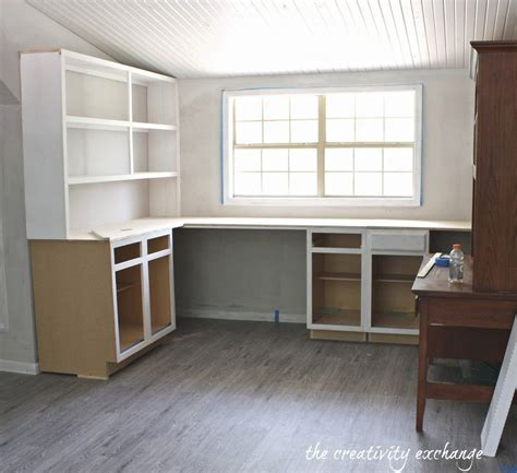 create built  shelving  cabinets   tight budget