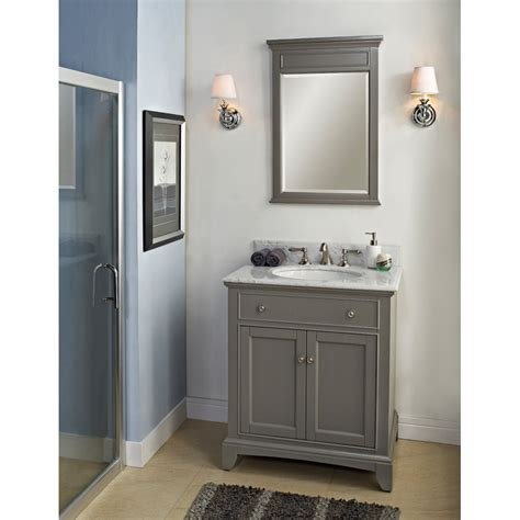 "Fairmont Designs 30"" Smithfield Vanity   Medium Gray"