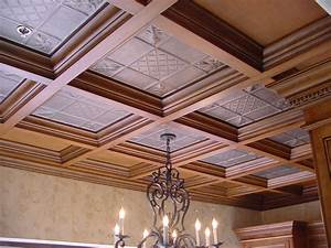 Woodgridr coffered ceilings by midwestern wood products co for Wood ceiling ideas