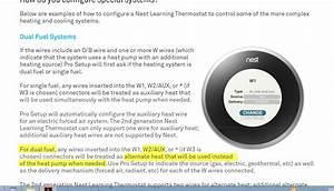 Nest Thermostat Wiring Diagram 2 Stage Heat Pump