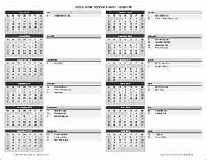 school calendar template 2018 2019 school year calendar With annual calendar of events template