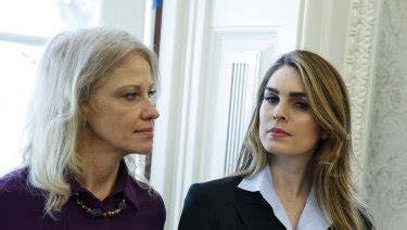 Hope Hicks, the quiet one in Trump's White House, suddenly ...