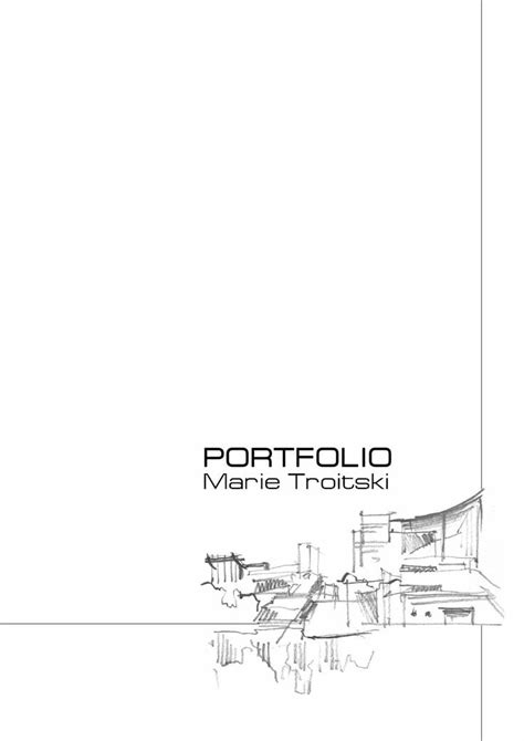 12772 architecture cover page design best 25 portfolio covers ideas on portfolio