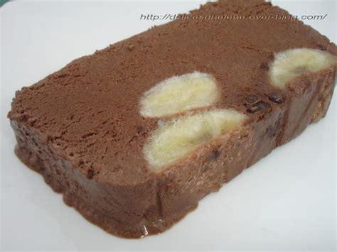 dessert chocolat banane