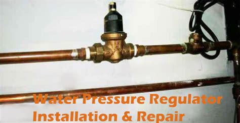 wilmington water pressure regulator installation repair