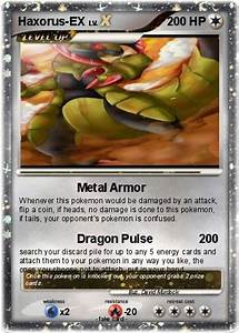 Pokémon Haxorus EX 1 1 - Metal Armor - My Pokemon Card