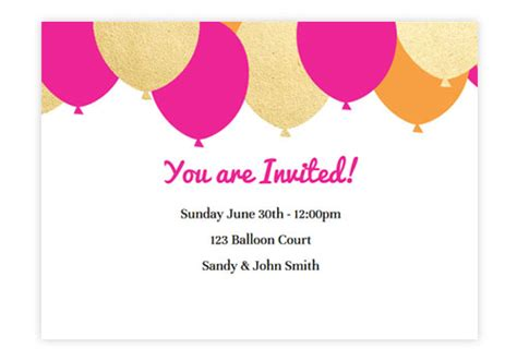 wedding cake animated online birthday invitations