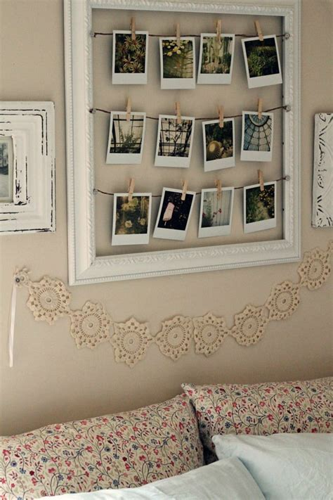 Ideen Für Fotos An Der Wand by Polaroid Fotos Deko Basteln Gestalten 17 Gute Laune Ideen