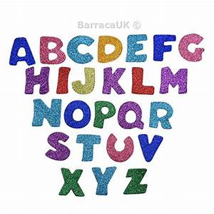 new eboot glitter foam stickers letter sticker self With adhesive letters for shirts