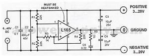 L165 Symmetrical Power Supply