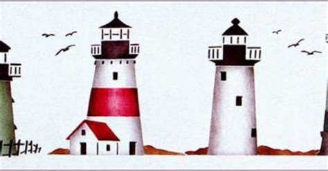Paintable Lighthouses Yowler And Shepps Stencils Online