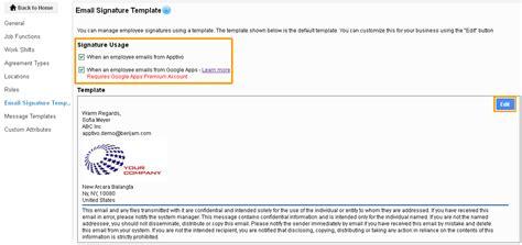 signature template u haul self storage email signature