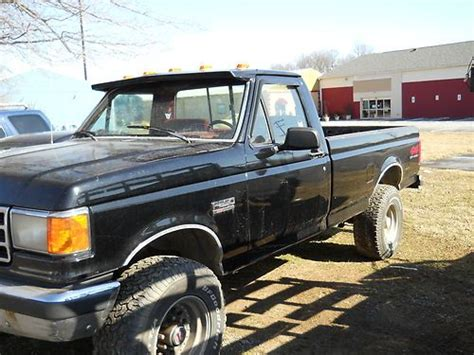 how to fix cars 1992 ford f250 security system sell used 1991 ford f 250 4 x 4 selling for parts or repair in darlington maryland united states