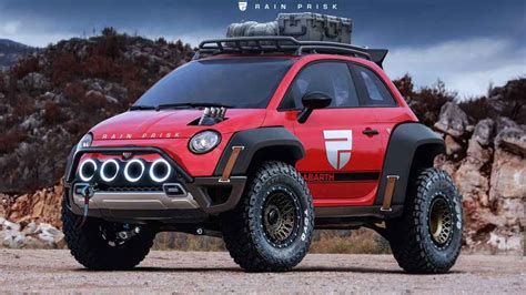 Fiat Defined by Fiat 500 Rendering Is Ready For The Apocalypse