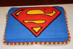 superman template for cake - printable superman birthday banner for a super hero