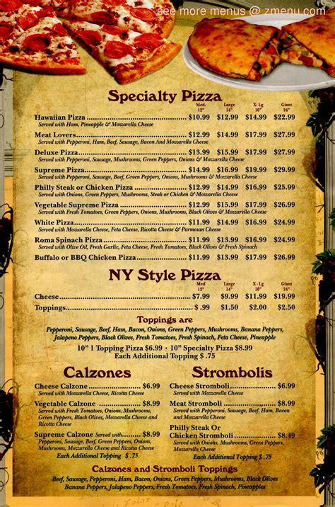 Cafe cornerstone > menu items. Online Menu of Noahs Pizza & Grill Restaurant, Coats ...