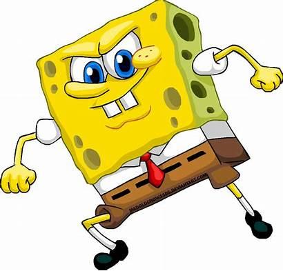 Spongebob Angry Squidward Squarepants Transparent Patrick Deviantart
