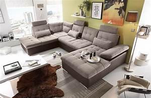 Wohnlandschaft In U Form : ecksofa sofaecke wohnlandschaft couch u form couchgarnitur polsterecke sofacouch ~ Frokenaadalensverden.com Haus und Dekorationen