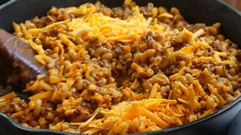 Best Homemade Cheeseburger Macaroni (hamburger Helper
