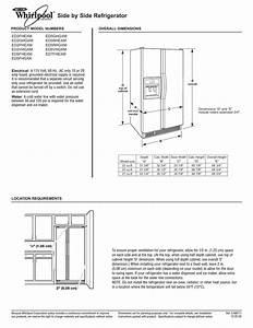 Whirlpool Refrigerator Water Line Diagram