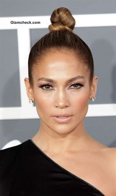 jennifer lopez glams    sophisticated hair  makeup