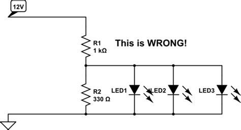Automotive Trying Use Leds Circuit
