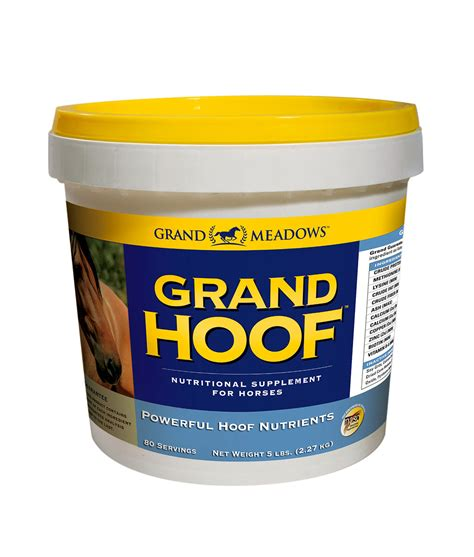 hoof grand supplement horse meadows supplements horses amino biotin hooves 2kg acids foot gm web